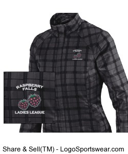 Locale Lightweight City Plaid Jacket in grey/black Design Zoom